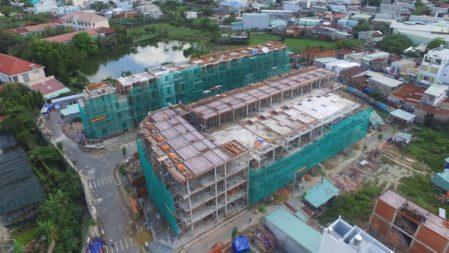 Nhà phố xây sẵn hút khách cuối năm 2017